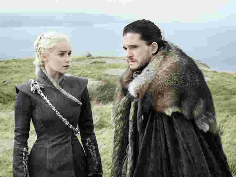 La saison 8 de Game of Thrones a coûté 80 millions d'euros: voilà ce qu'on peut attendre des 6 épisodes