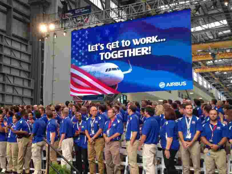 Airbus annonce des résultats au T3 conformes aux attentes mais surprend avec des révélations sur les Etats-Unis