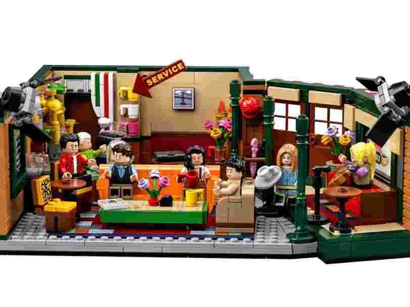 Lego lance un kit pour recréer le café 'Central Perk' de 'Friends' avec tous les personnages