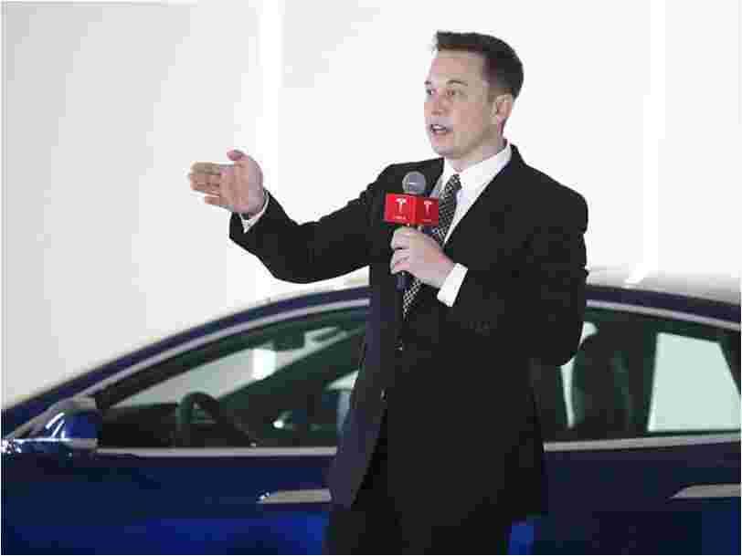 Elon Musk a acheté pour 25M$ d'actions Tesla un jour seulement après avoir annoncé le licenciement de 9% des effectifs