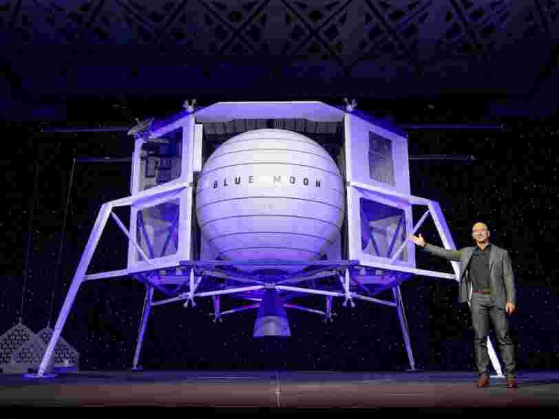 Avec Blue Moon, Jeff Bezos veut aider la Nasa à retourner sur la Lune