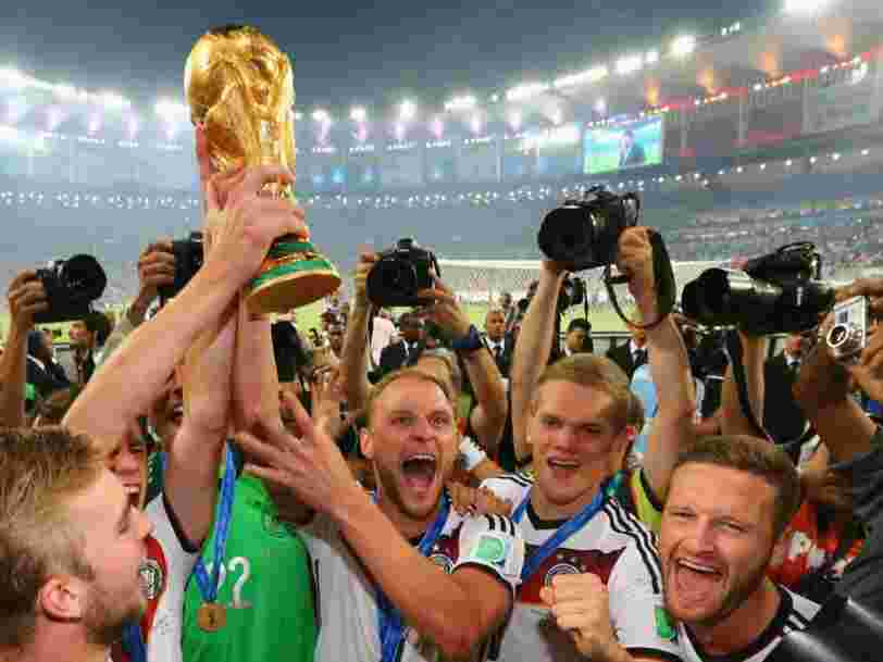 La banque suisse UBS a prédit le vainqueur de la Coupe du monde 2018 — et la France n'est pas parmi les 4 favoris