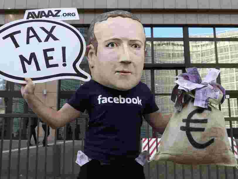Les utilisateurs de Facebook seraient prêts à fermer leur compte en échange de 1000$, estime une étude