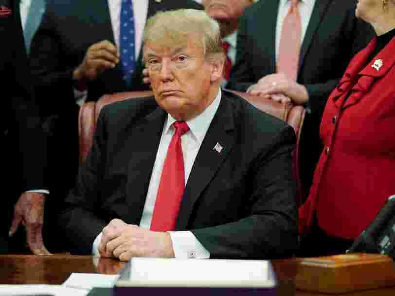 Donald Trump menace de faire durer le 'shutdown' pour obtenir gain de cause sur son projet de mur à la frontière avec le Mexique