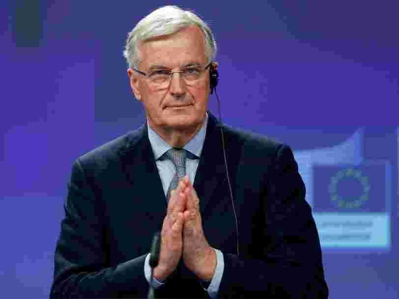 Michel Barnier fixe la fin de la transition post-Brexit au 31 décembre 2020