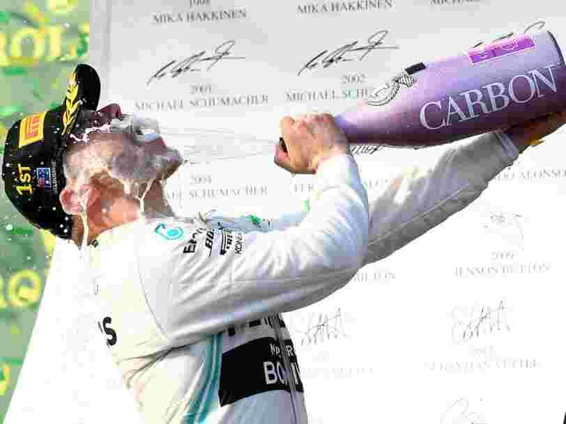 Pour la première fois, on boit plus de champagne à l'étranger qu'en France