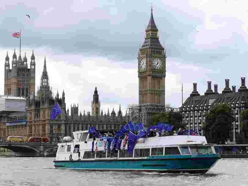 Le Royaume-Uni a accidentellement menacé d'expulser 100 citoyens européens