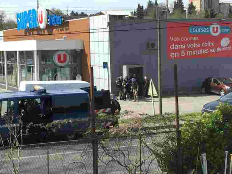 Un 'acte terroriste' à Carcassonne fait 3 morts — l'Etat islamique revendique l'attaque
