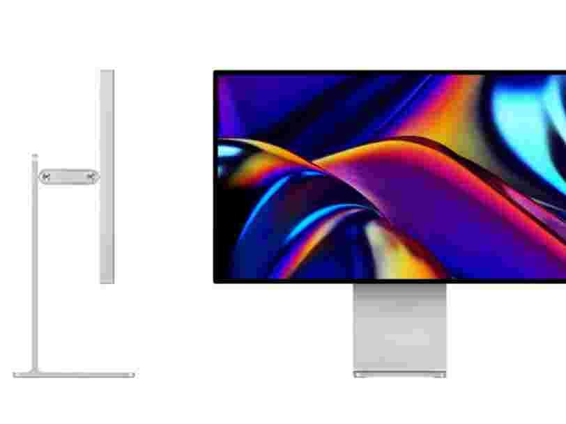 Apple se fait étriller pour son pied à 1 000$ vendu séparément de l'écran Pro Display XDR