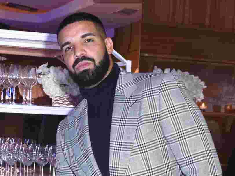 Découvrez 'Air Drake', le nouveau jet privé du rappeur canadien estimé à 185M$