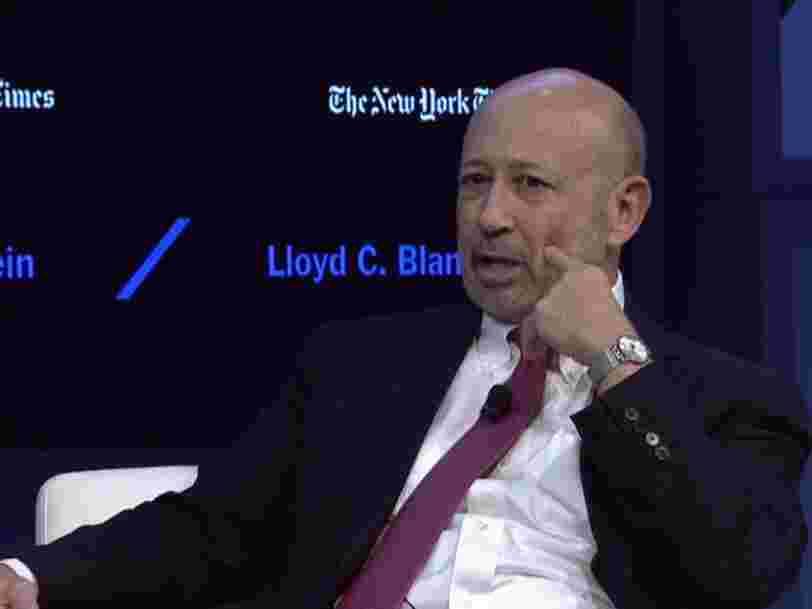 Les traders de Goldman Sachs n'ont pas fait assez d'argent ce trimestre — l'action chute en bourse