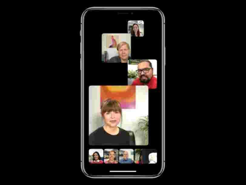 Après un mois de retard, FaceTime propose désormais des appels vidéo de 32 personnes, ainsi que des filtres et des animoji