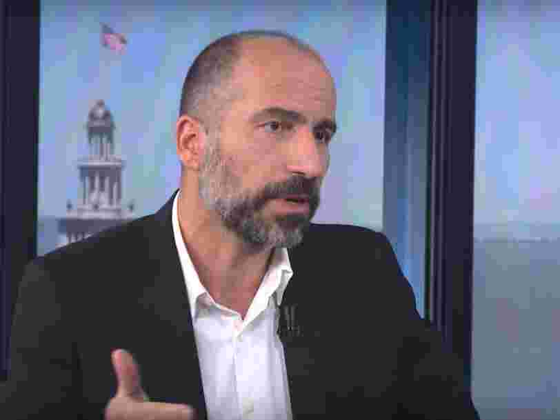 Uber recrute le patron d'Expedia Dara Khosrowshahi pour être son nouveau DG