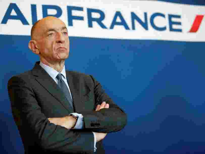 Le PDG d'Air France démissionne après que les salariés rejettent le projet d'accord pour mettre fin à la grève