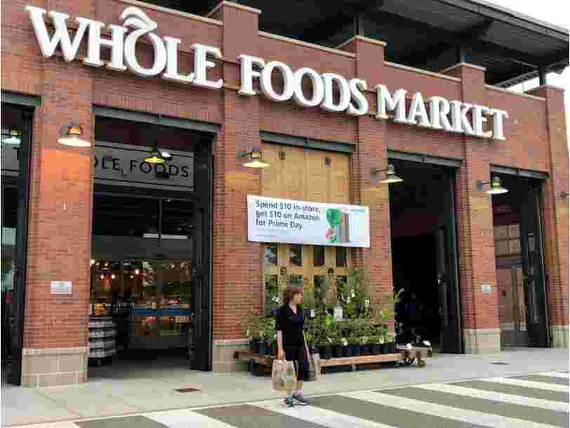 Amazon envisage d'ouvrir davantage de magasins Whole Foods — et c'est une preuve que le géant de l'e-commerce n'a pas l'intention de ralentir sa progression dans le commerce physique