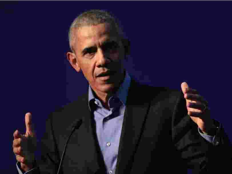Obama dénonce Facebook et Google et doute de l'avenir de la démocratie dans le contexte politique actuel