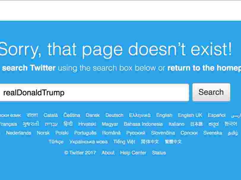 Un employé Twitter a profité de son dernier jour dans l'entreprise pour désactiver le compte de Donald Trump pendant 11 minutes