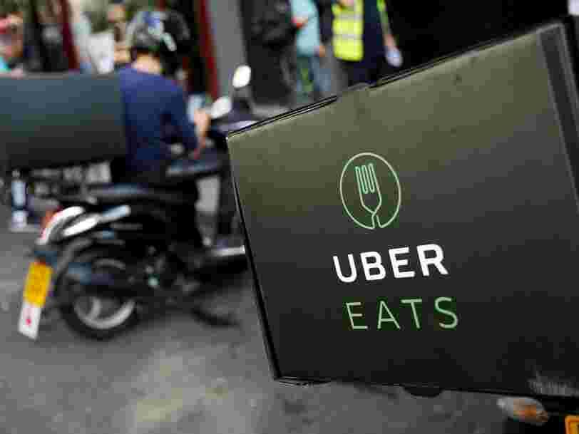 UberEats s'associe avec l'un des plus grands brasseurs au monde pour tester la livraison de bières à domicile à Bruxelles