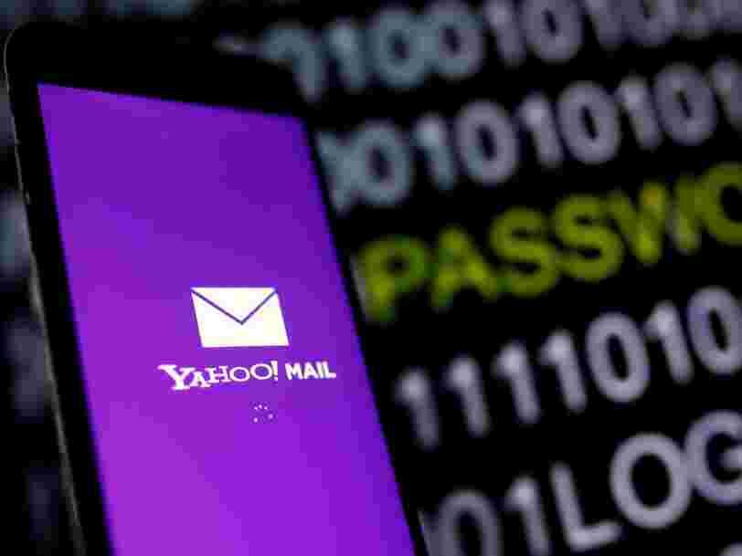 Yahoo révèle qu'un milliard de comptes utilisateurs ont été piratés