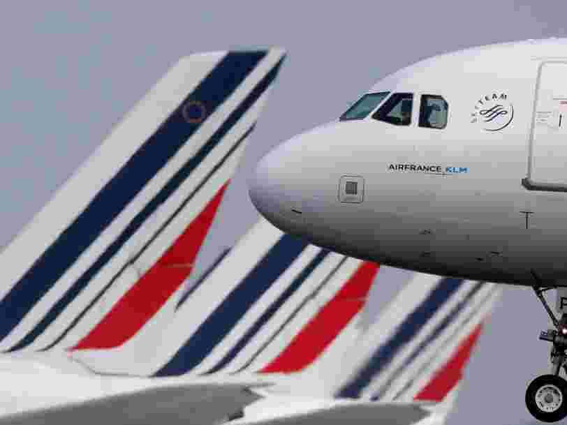 Air France-KLM s'envole en Bourse alors qu'AccorHôtels se dit intéressé par la participation de l'Etat dans la compagnie aérienne
