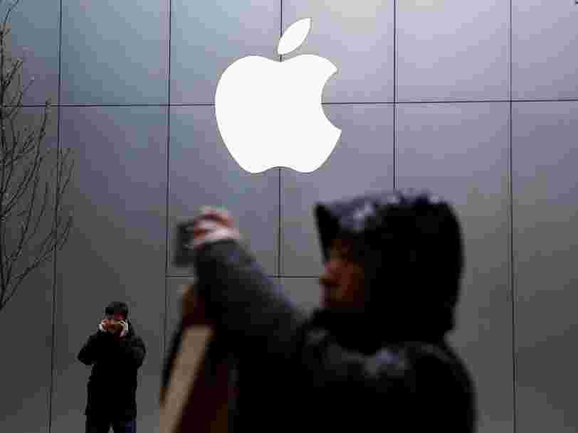 Apple chute à Wall Street après la riposte de la Chine aux taxes de Donald Trump... et les 6 autres choses à savoir dans la tech ce matin