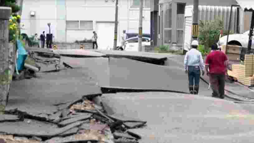 Le séisme de magnitude 6,7 qui a touché le nord du Japon a fait 44 morts et plus de 660 blessés