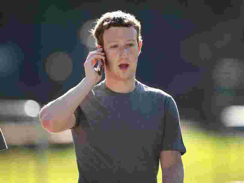 Mark Zuckerberg dévoile les tactiques secrètes de Facebook pour acquérir des entreprises