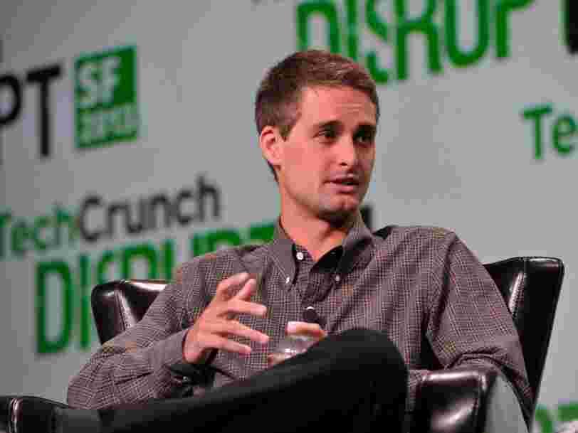 La filiale de capital-risque de Google a investi dans Snapchat en toute discrétion