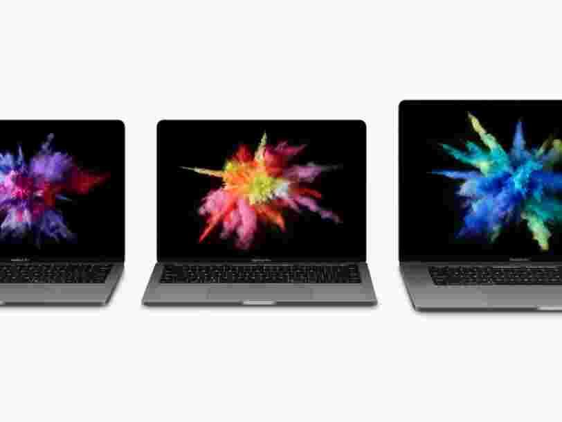 Apple a officiellement présenté son nouveau MacBook Pro