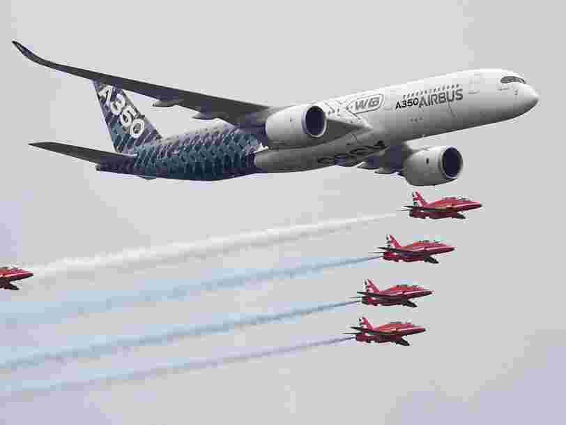 Airbus survole le CAC 40 après les résultats du 2e trimestre et la bonne performance de ses A350