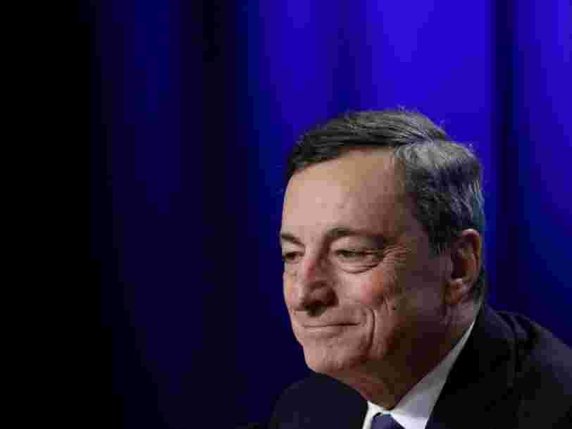 La Banque centrale européenne réduit son soutien à l'économie