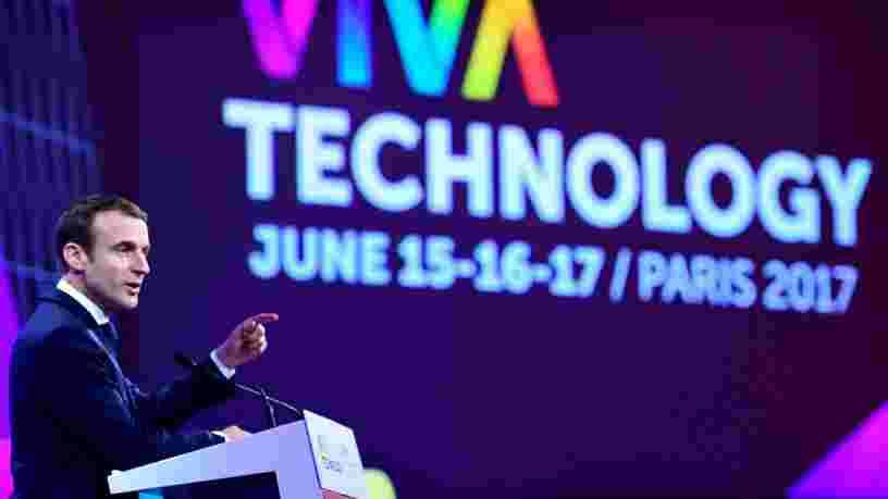 Emmanuel Macron avait un message pour les entrepreneurs et investisseurs étrangers venus à Paris pour le salon Vivatech