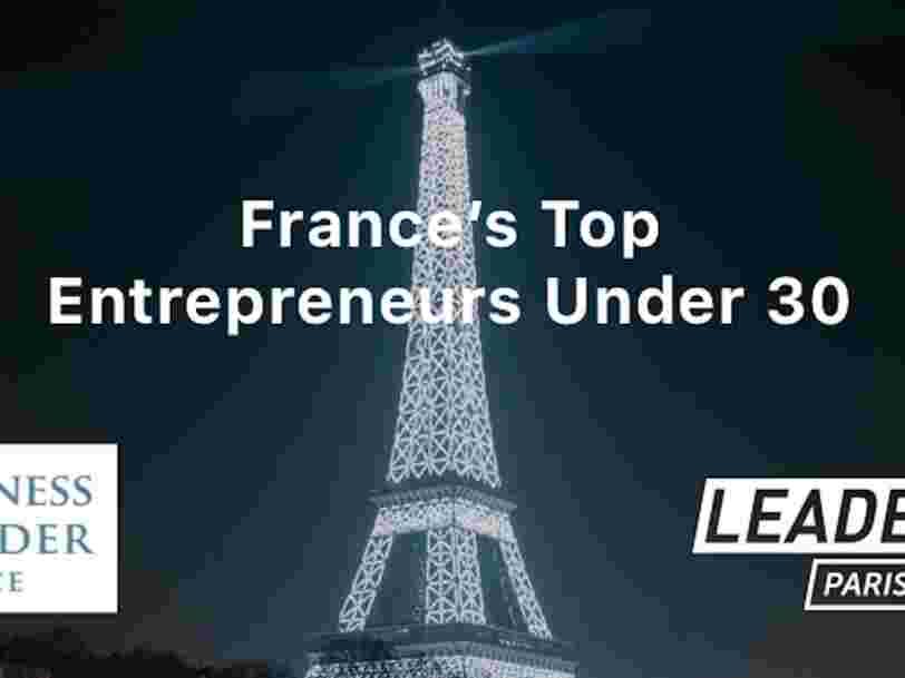 Appel à candidatures: recommandez les meilleurs entrepreneurs français de moins de 30 ans