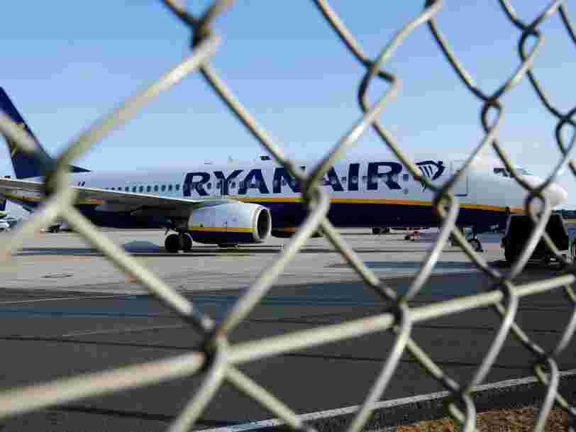 Ryanair affronte la plus grande grève de histoire — qui l'oblige a annuler près de 400 vols au plus fort de la saison estivale