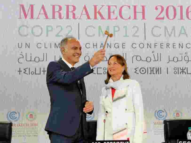 20000 personnes sont réunies à Marrakech pour sauver la planète— mais pour l'un de leurs sujets c'est peut-être déjà trop tard
