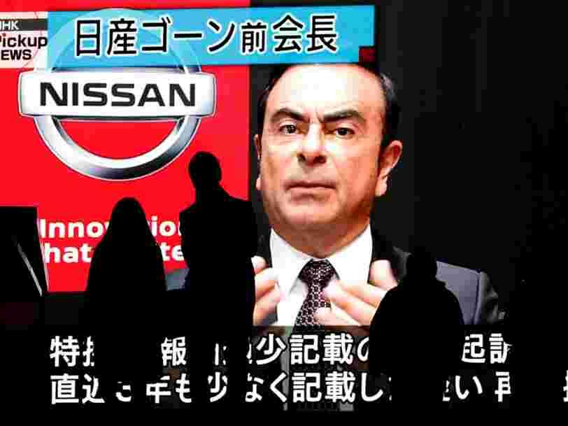 Le PDG de Renault Carlos Ghosn risque 15 ans de prison au Japon — voici un résumé de l'affaire pour ceux qui n'ont rien suivi