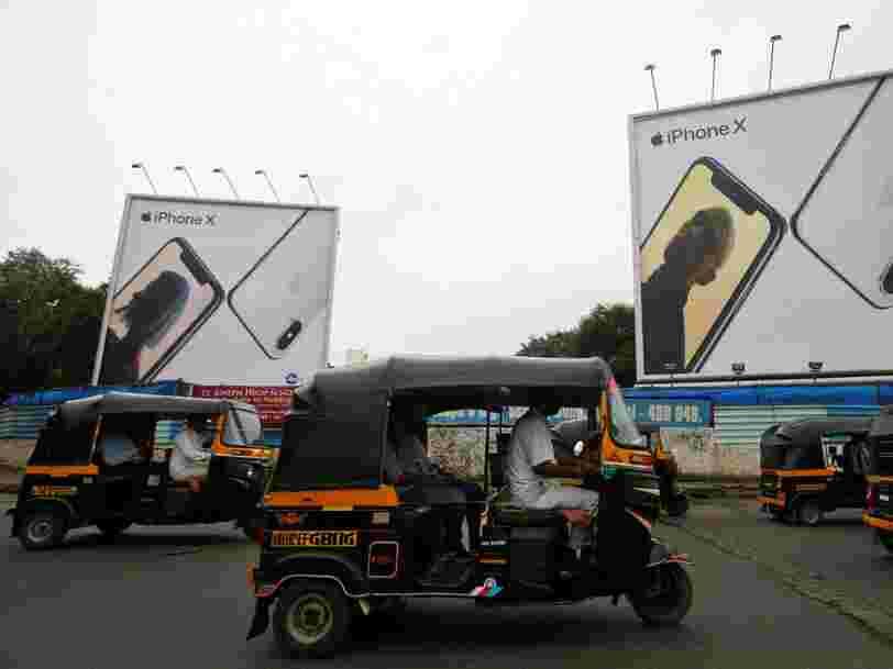 L'Inde menace d'interdire les iPhone parce qu'Apple refuse de pré-installer une appli du régulateur