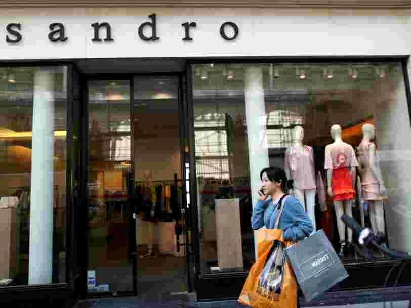 La maison-mère de Sandro et Maje fait des premiers pas hésitants en Bourse