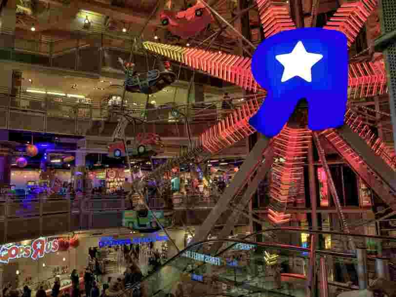 La faillite de Toys'R'US va avoir un impact important sur les ventes de Noël, avertit Hasbro