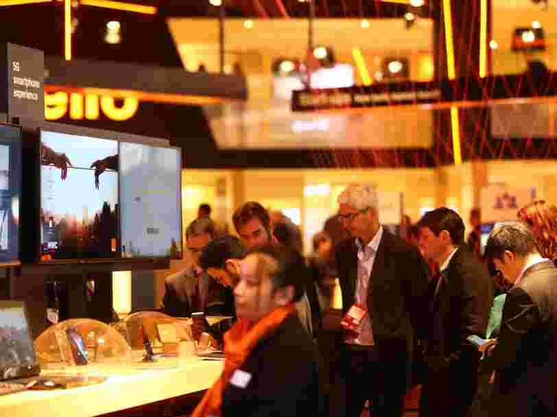 Comme Samsung, Orange a présenté son smartphone 5G au salon de Barcelone