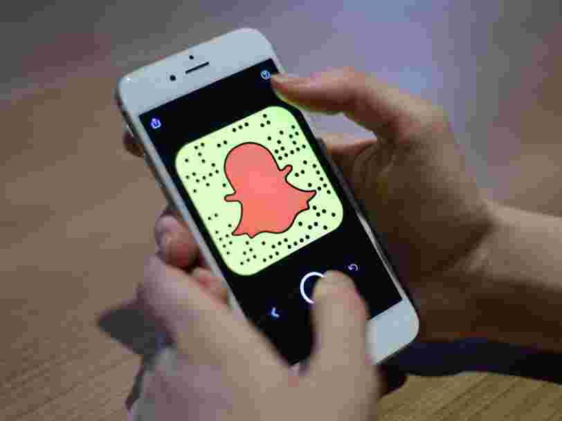 La maison-mère de Snapchat lève 1 Md$... et les 6 autres choses à savoir dans la tech ce matin