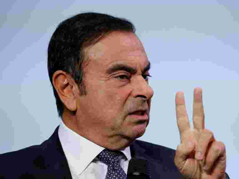 Un juge a décidé d'interrompre la détention de Carlos Ghosn au Japon