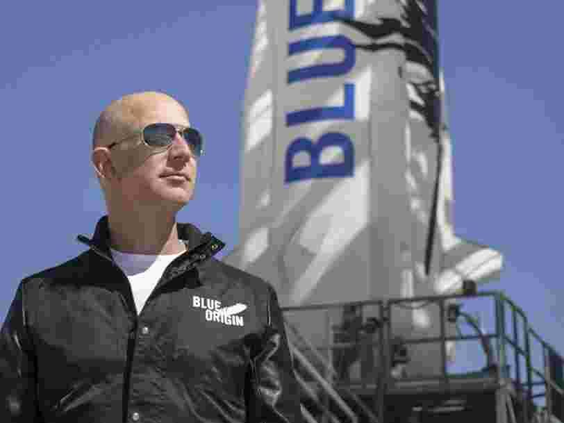 Jeff Bezos aurait prévu de vendre des billets pour des vols dans l'espace à 200.000$ dès l'année prochaine