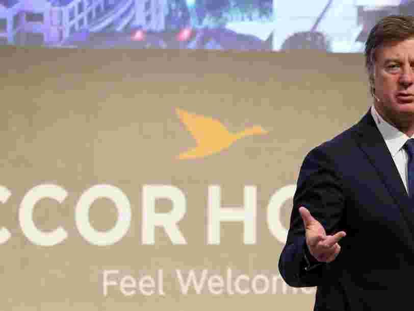 AccorHotels renonce à investir dans Air France — 'à ce stade'