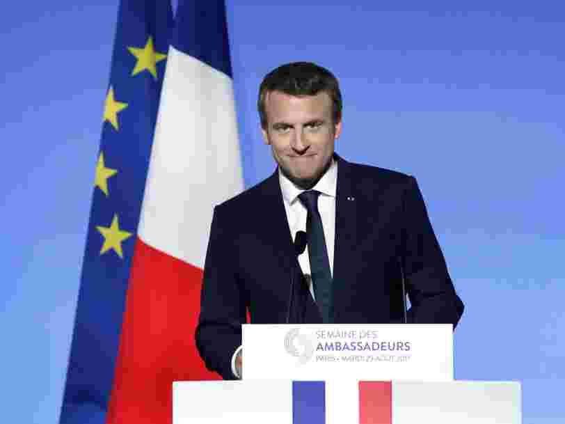 Emmanuel Macron a fixé un nouvel objectif numérique à la France devant ses ambassadeurs — et heureusement ce n'est pas de créer 'un Google français'