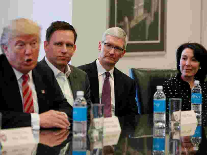 Peter Thiel estime que nous sommes sortis de l'ère Apple