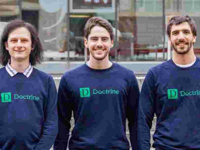 3 Français qui ont créé un outil pour analyser des millions de textes de loi obtiennent 10M€ pour recruter 100 personnes en 18 mois