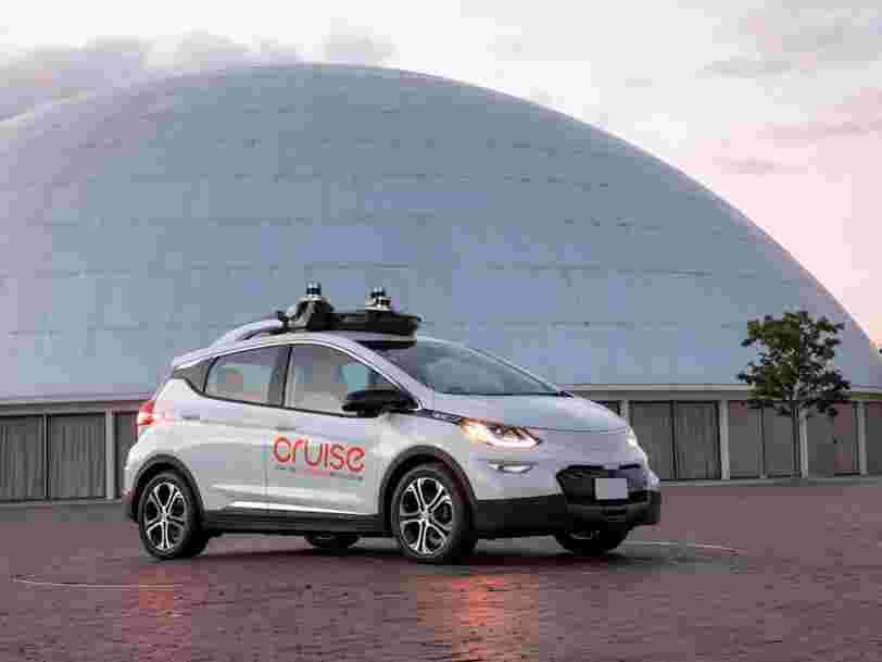 General Motors est prêt à démarrer la production de sa première voiture autonome