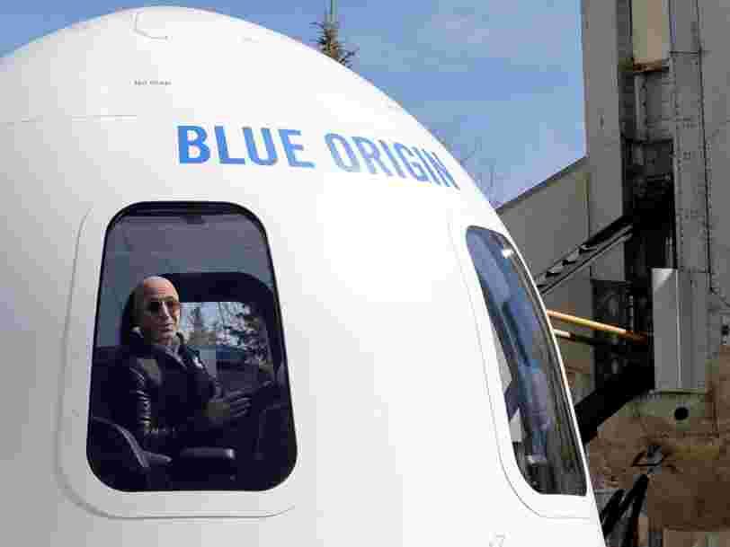 Jeff Bezos va recruter 1500 personnes en 2 à 3 ans pour être prêt à lancer des fusées à partir de 2020