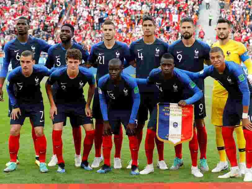 Classement: les 10 joueurs de l'équipe de France les plus recherchés sur internet pendant la Coupe du monde